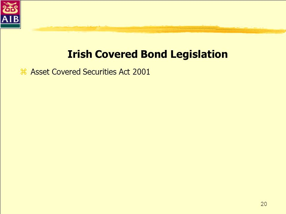 Irish Covered Bond Legislation