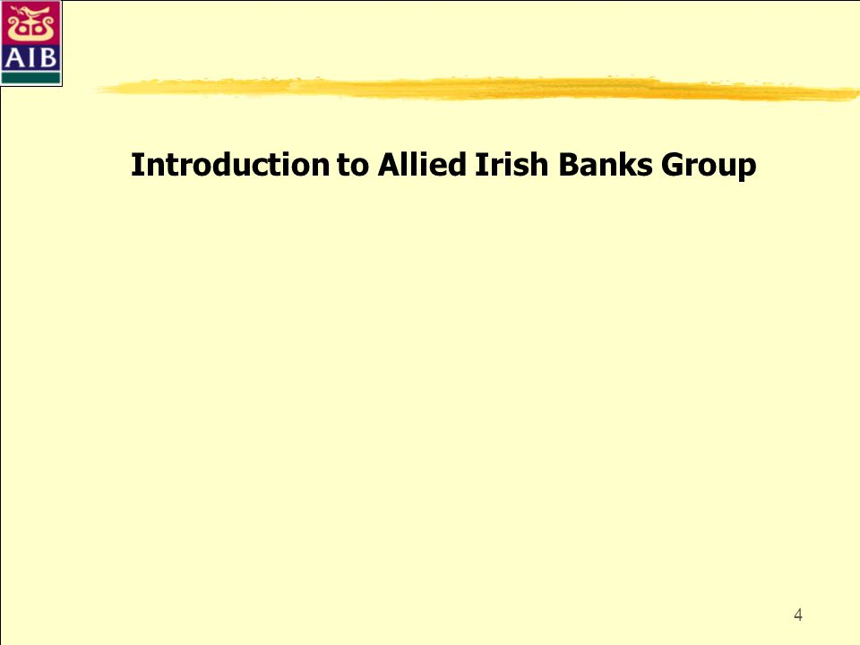 Introduction to Allied Irish Banks Group