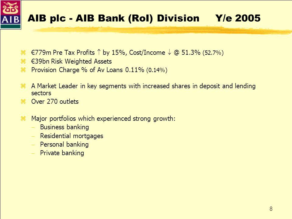 AIB plc - AIB Bank (RoI) Division Y/e 2005
