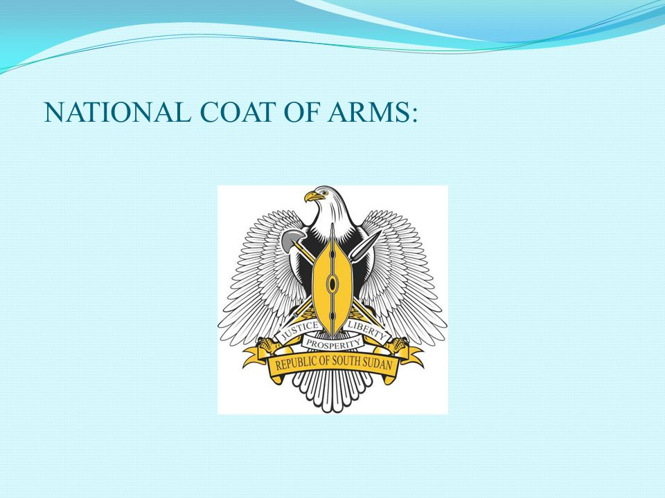 NATIONAL COAT OF ARMS: