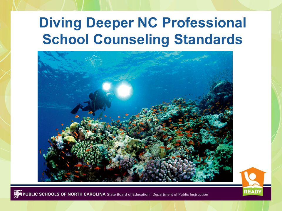 Diving Deeper NC Professional School Counseling Standards