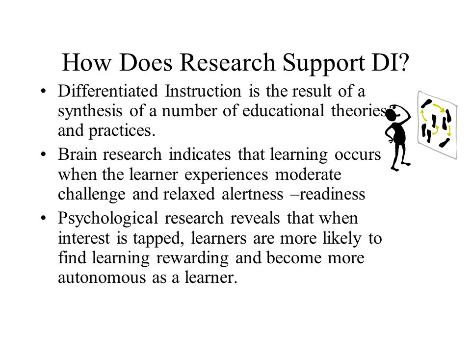 How Does Research Support DI