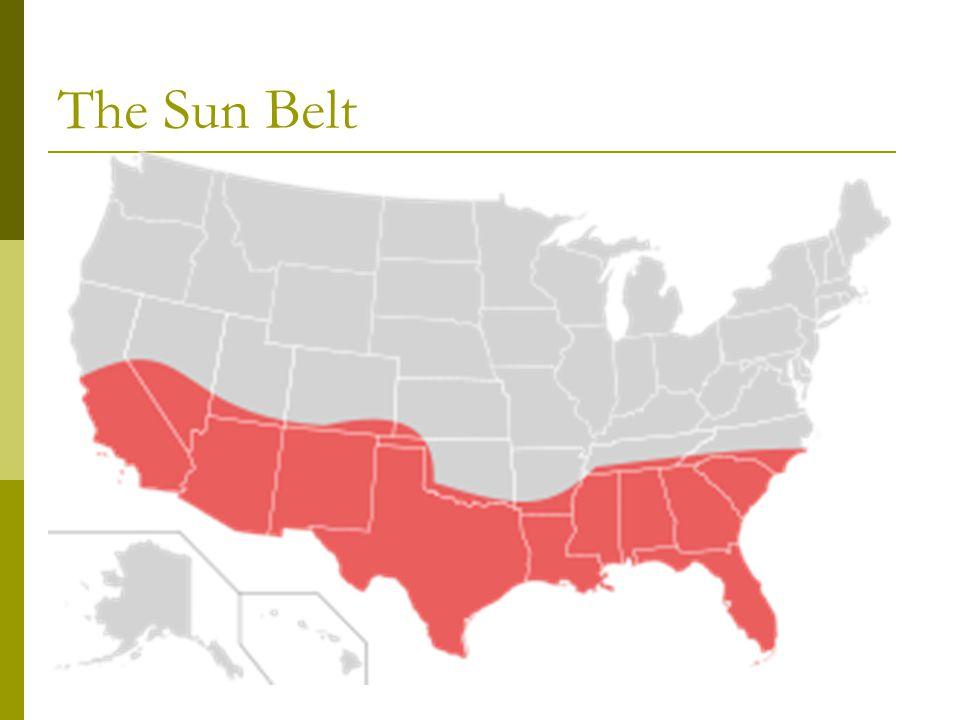 The Sun Belt