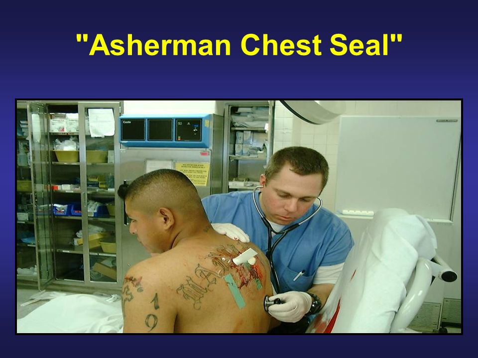 Asherman Chest Seal