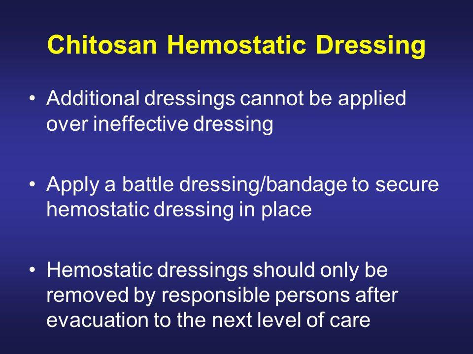 Chitosan Hemostatic Dressing