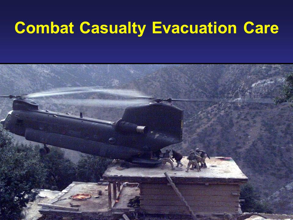 Combat Casualty Evacuation Care
