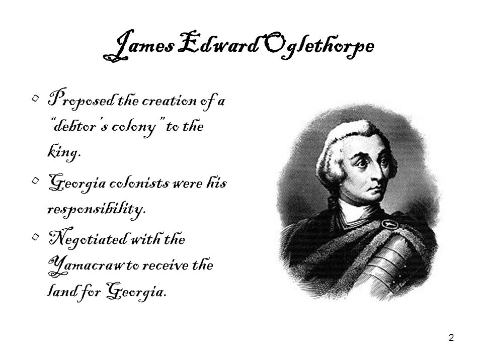 James Edward Oglethorpe