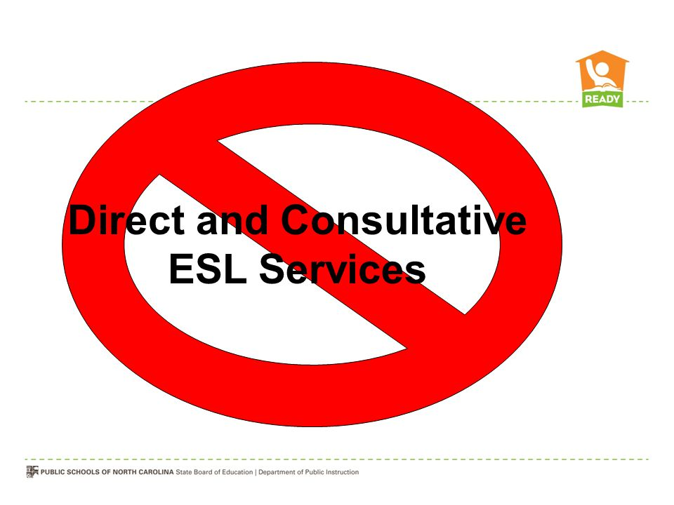 Direct and Consultative ESL Services