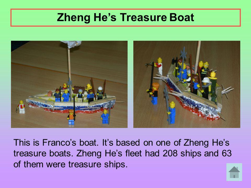 Zheng He's Treasure Boat