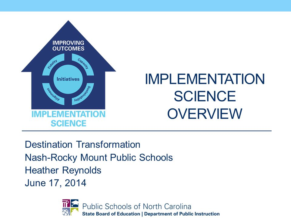 Implementation Science overview