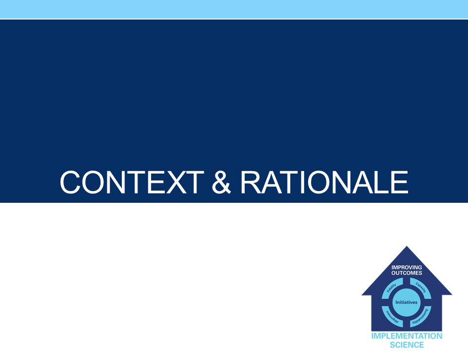 Context & Rationale