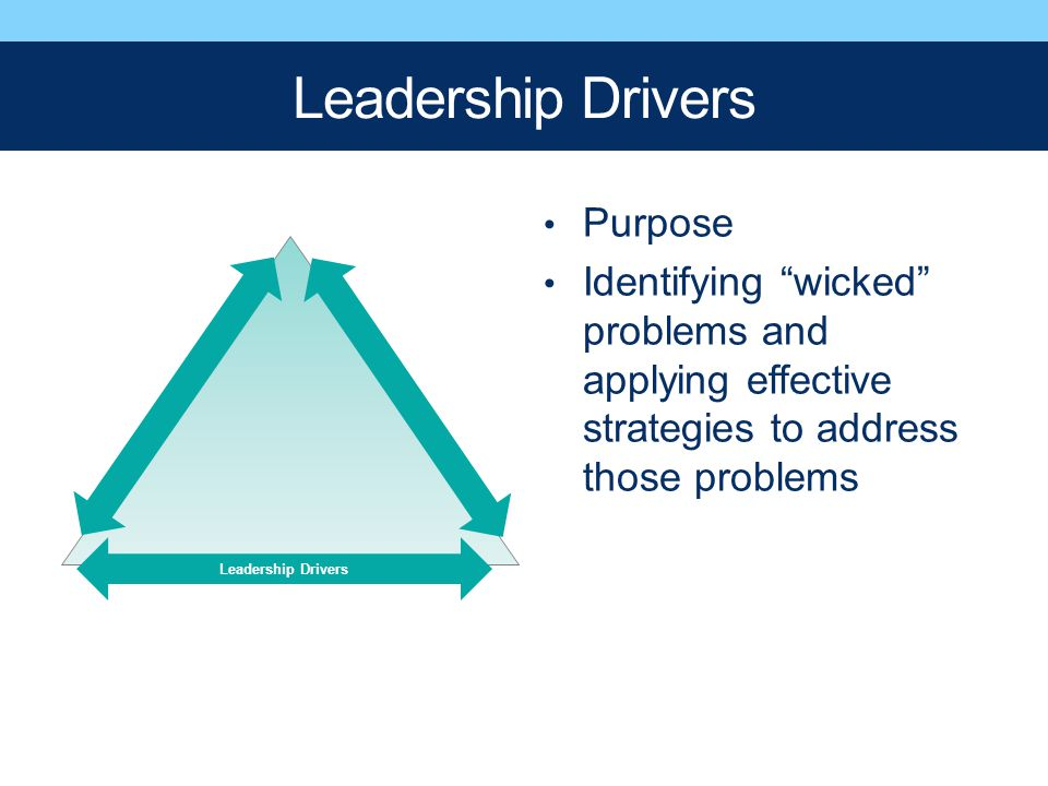 Leadership Drivers Purpose
