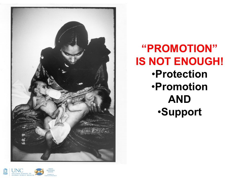 PROMOTION IS NOT ENOUGH! Protection Promotion AND Support