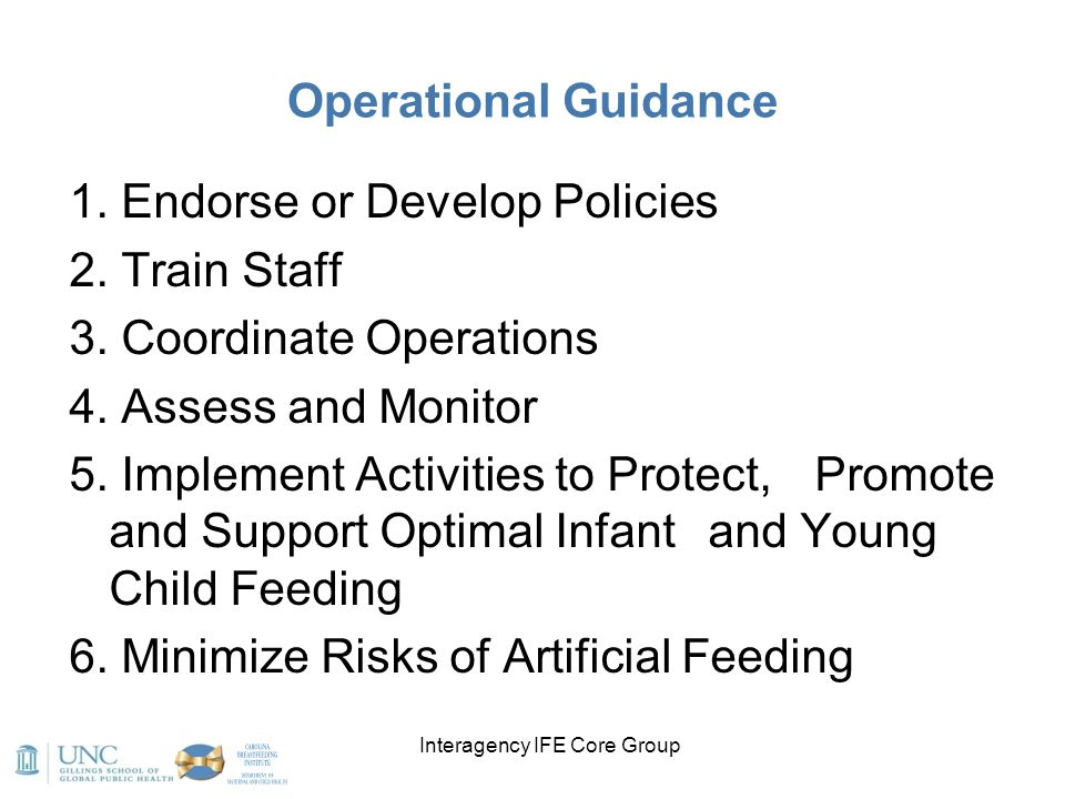 Interagency IFE Core Group