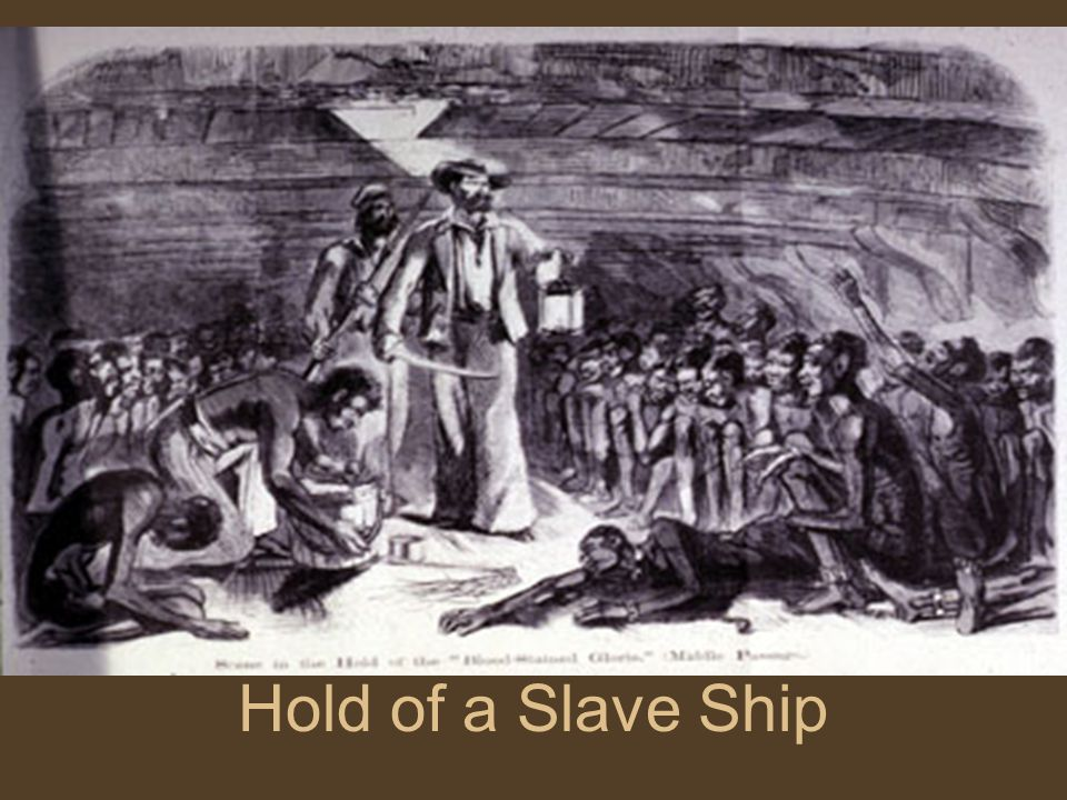 Hold of a Slave Ship