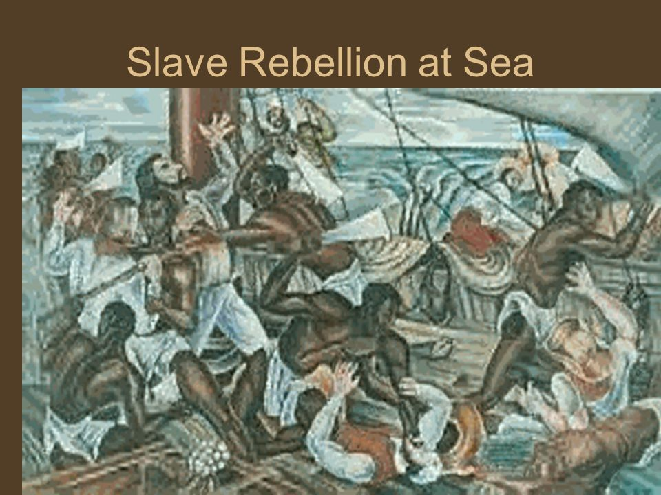 Slave Rebellion at Sea
