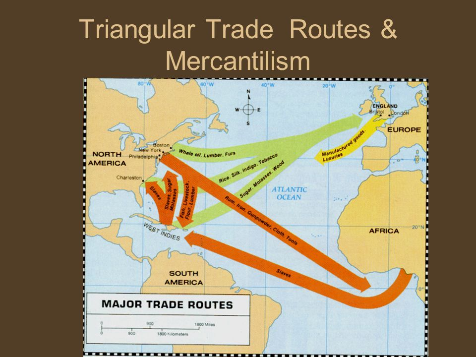 Triangular Trade Routes & Mercantilism