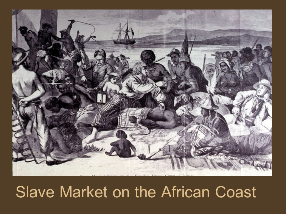 Slave Market on the African Coast