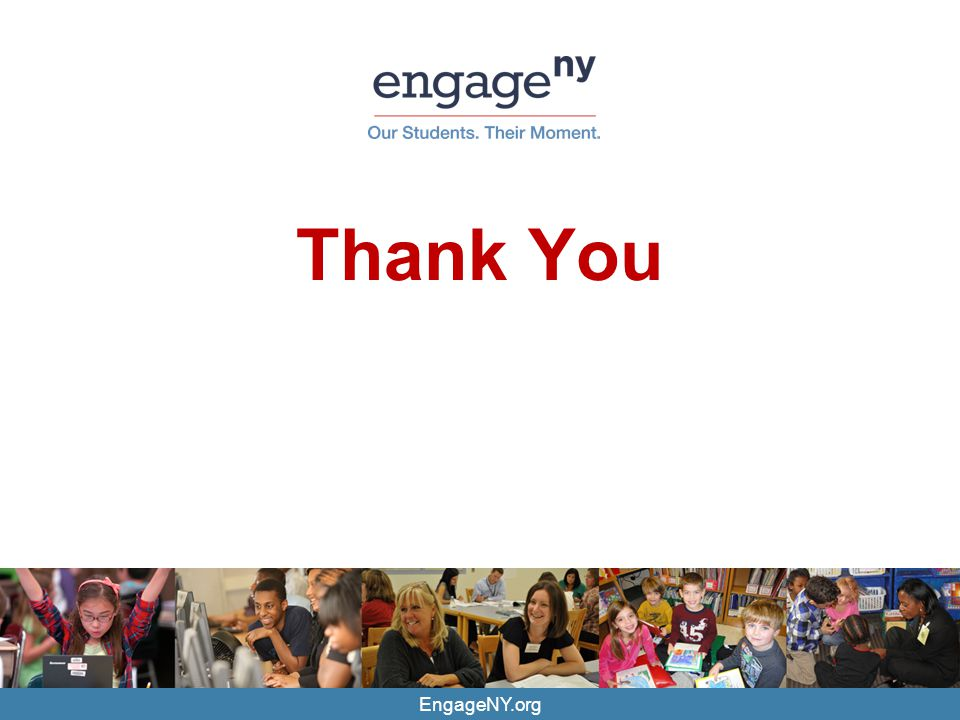 Thank You EngageNY.org