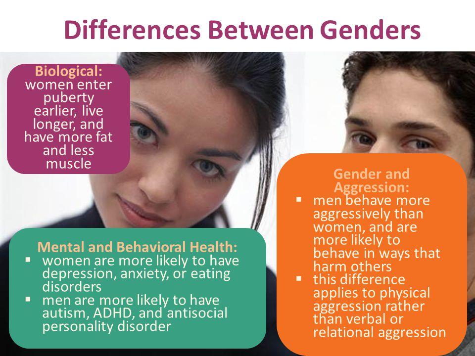Differences Between Genders