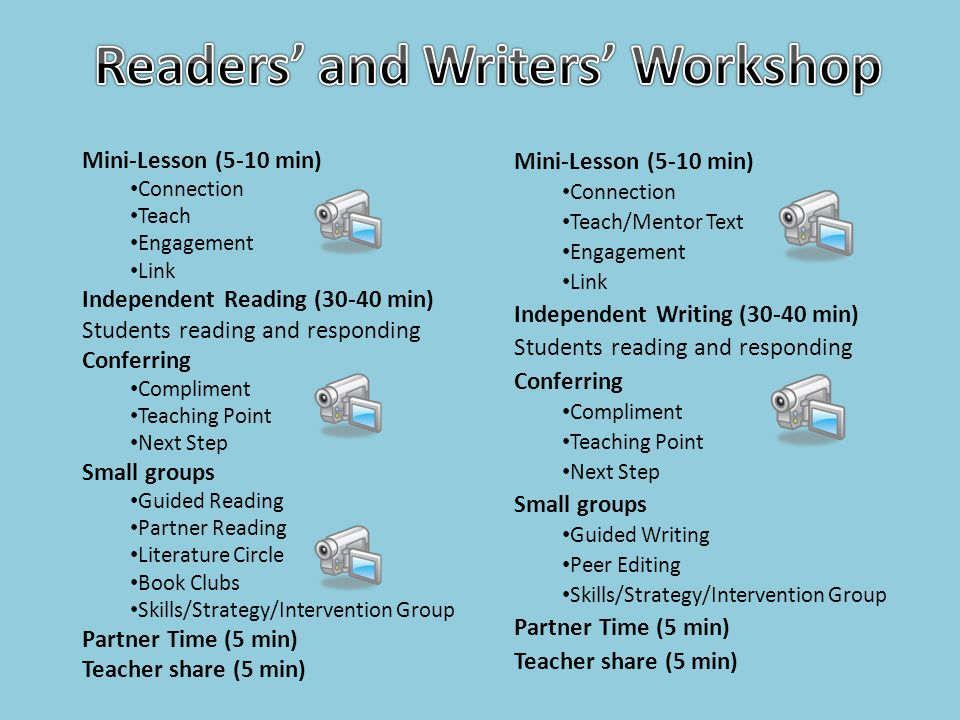 Readers' and Writers' Workshop