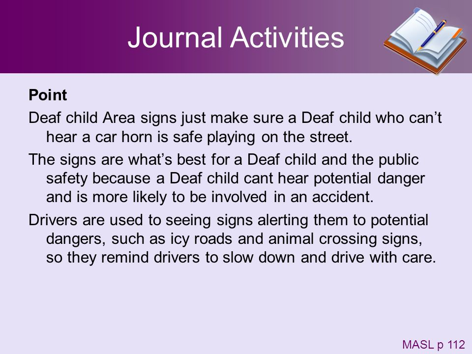 Journal Activities Point