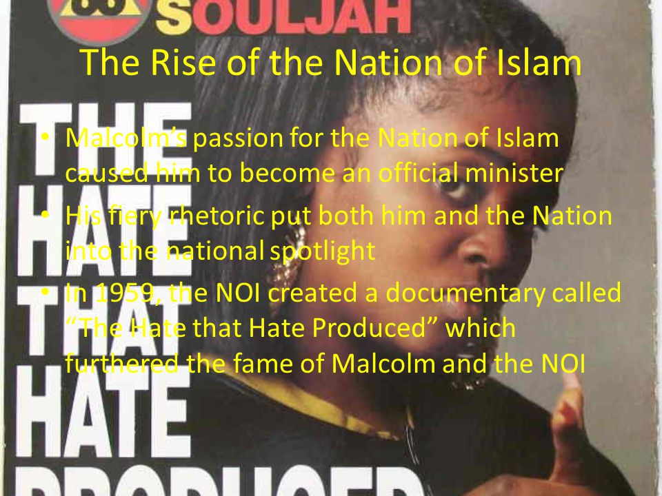 The Rise of the Nation of Islam