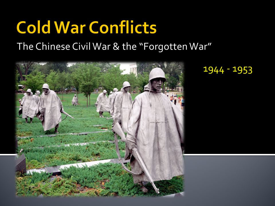The Chinese Civil War & the Forgotten War