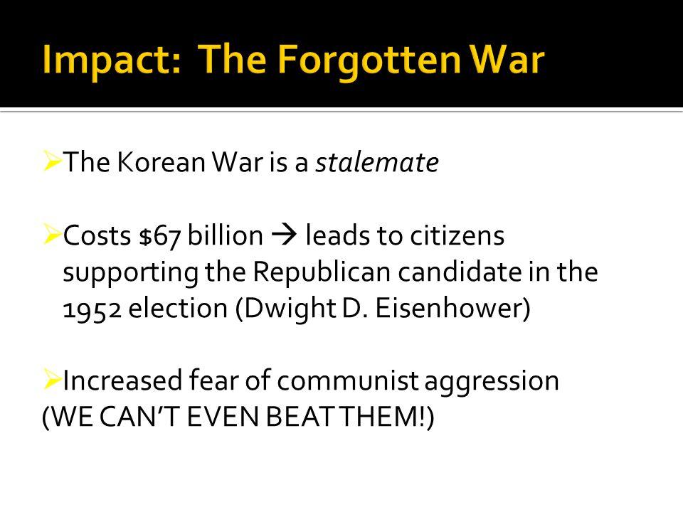 Impact: The Forgotten War
