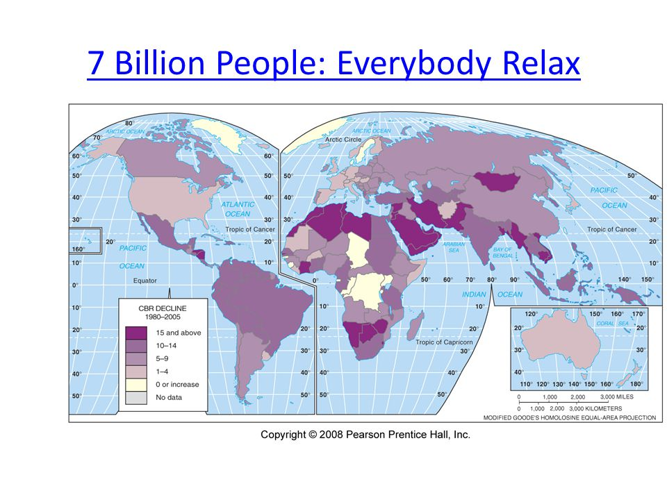 7 Billion People: Everybody Relax