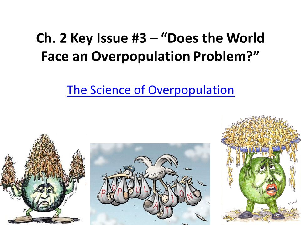 Ch. 2 Key Issue #3 – Does the World Face an Overpopulation Problem