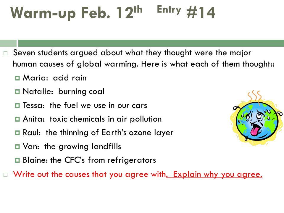 Warm-up Feb. 12th Entry #14