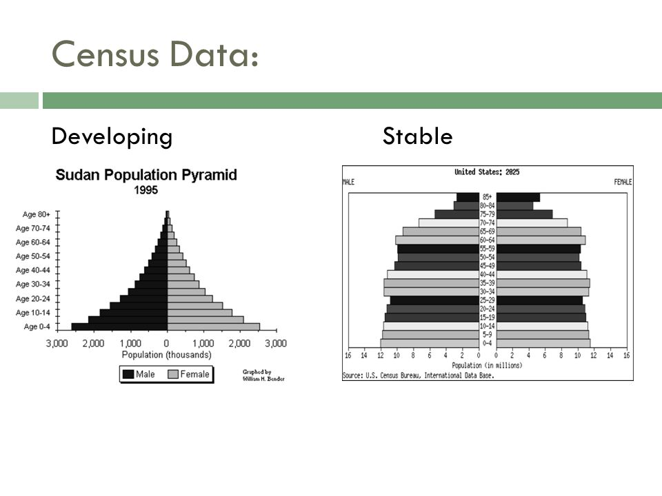 Census Data: Developing Stable