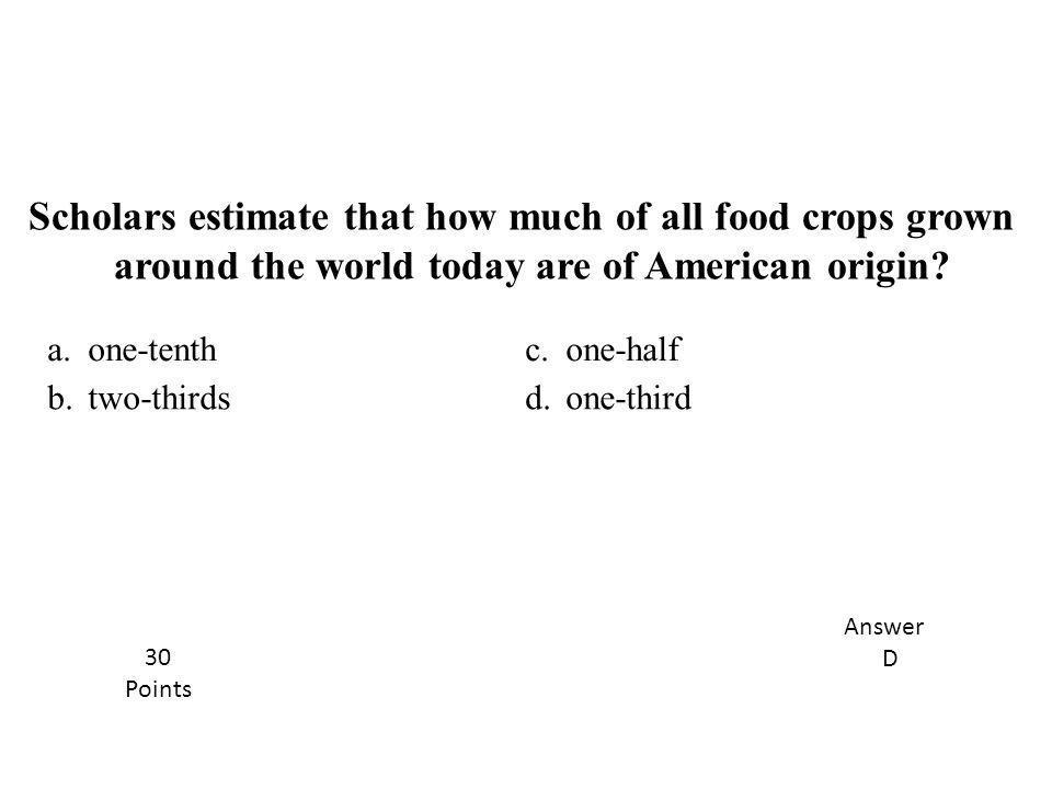 around the world today are of American origin