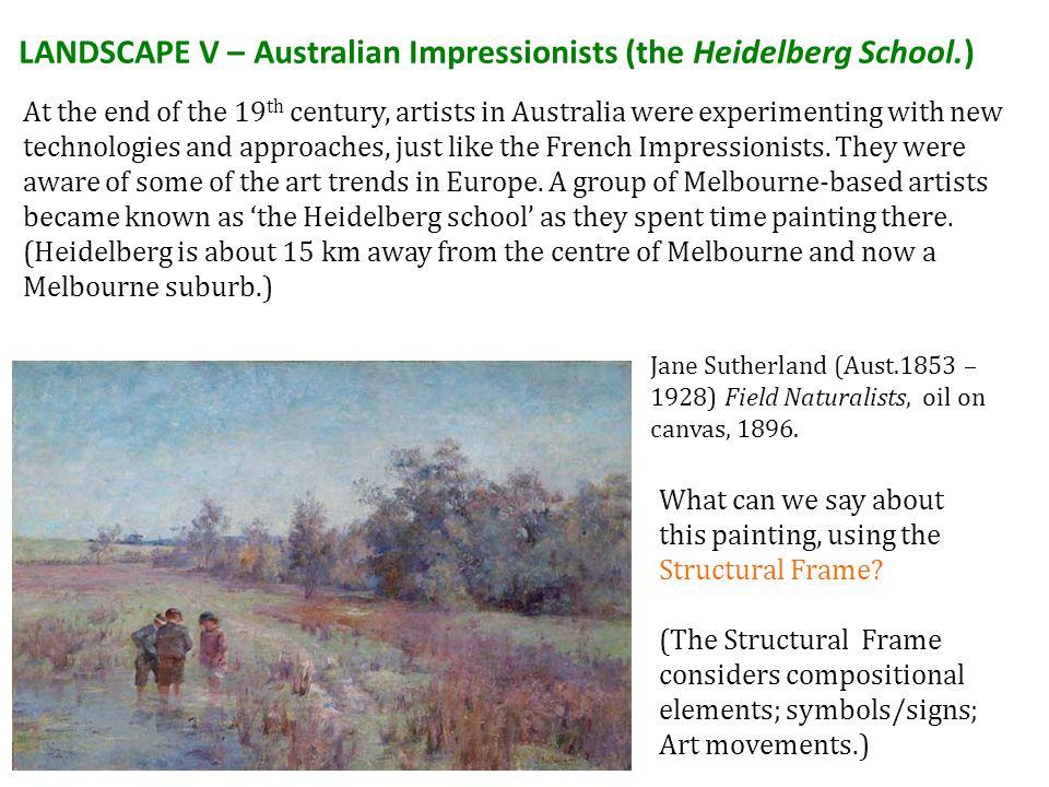 LANDSCAPE V – Australian Impressionists (the Heidelberg School.)
