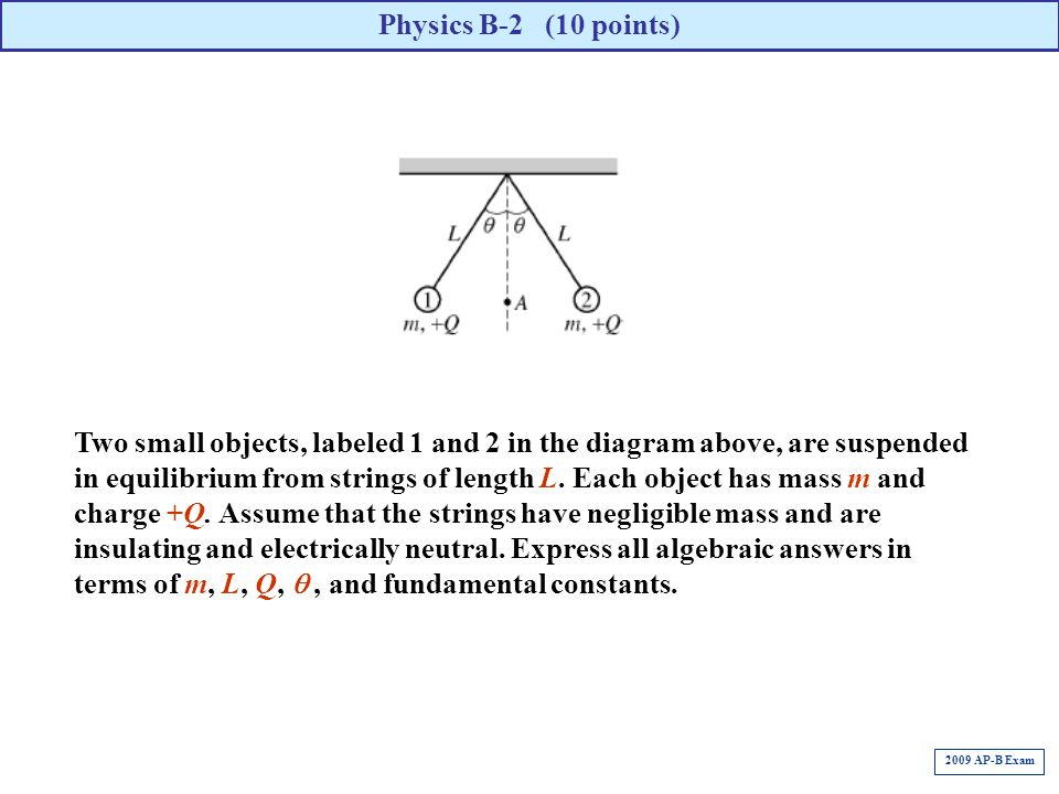 Physics B-2 (10 points)