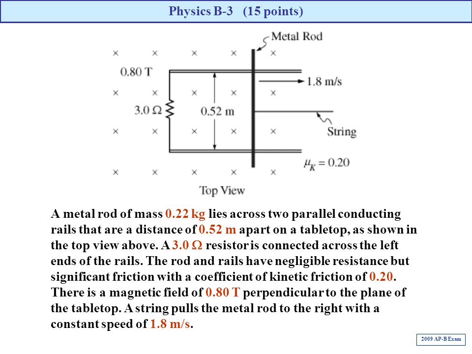 Physics B-3 (15 points)