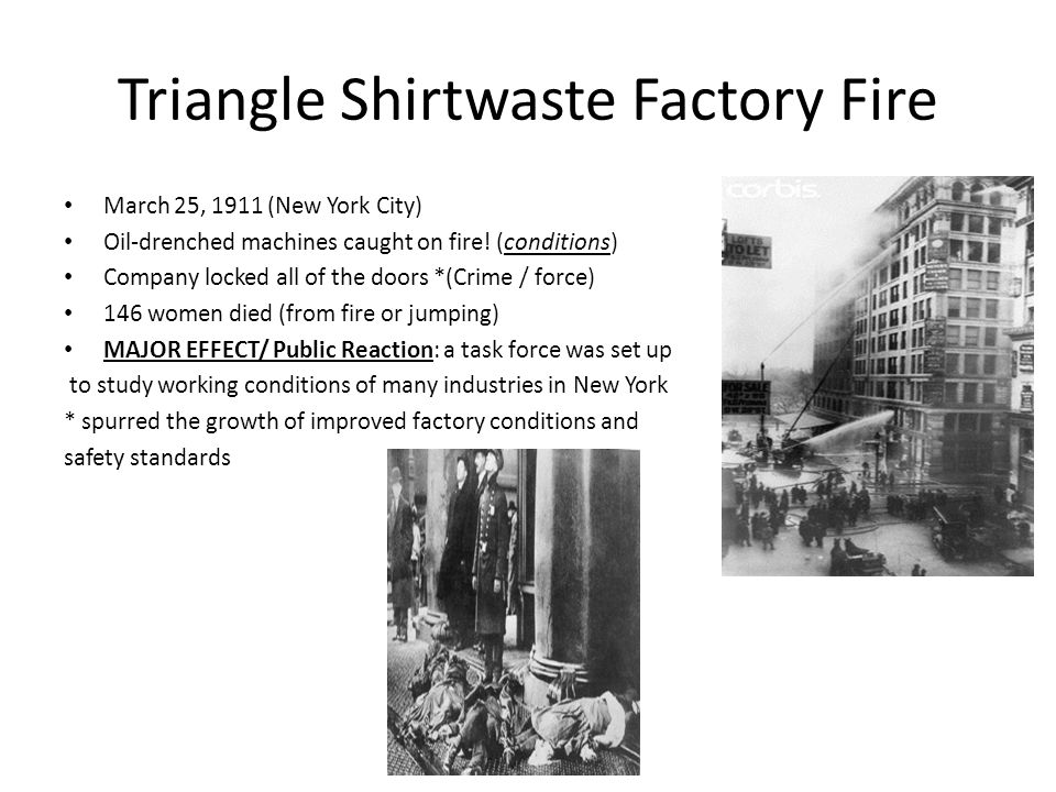 Triangle Shirtwaste Factory Fire