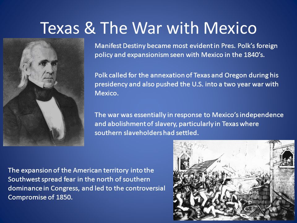 Texas & The War with Mexico