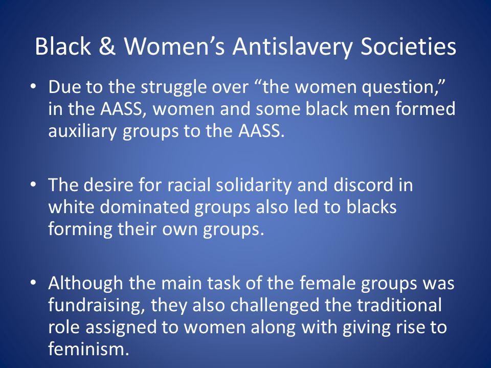 Black & Women's Antislavery Societies