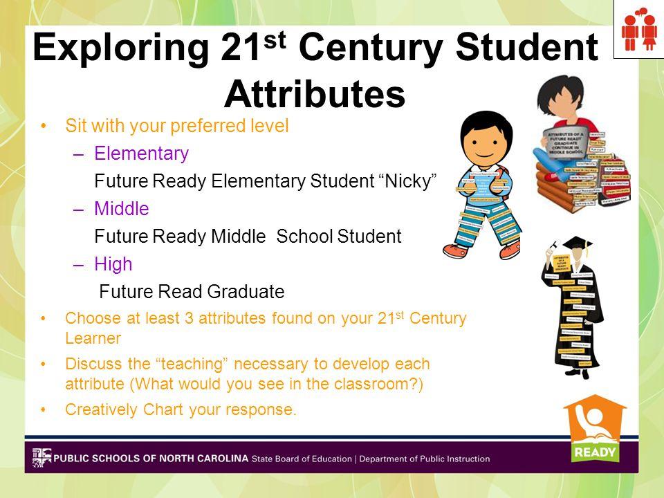 Exploring 21st Century Student Attributes