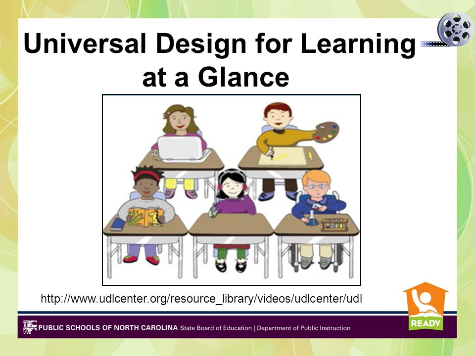 Universal Design for Learning at a Glance