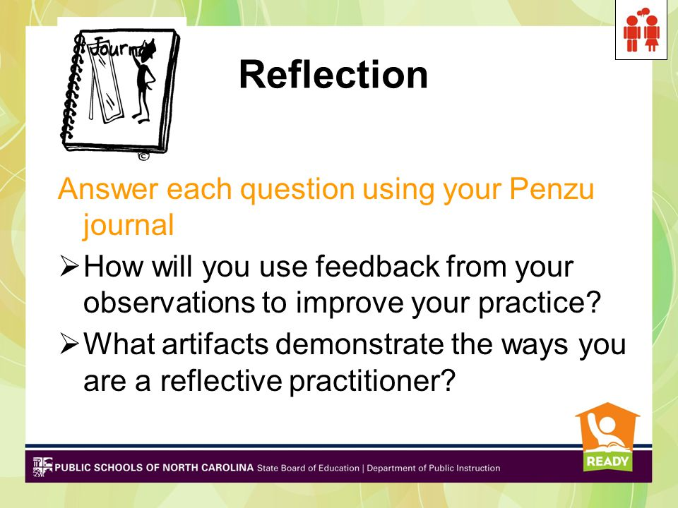 Reflection Answer each question using your Penzu journal