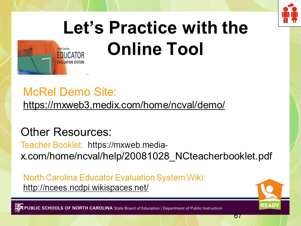 Let's Practice with the Online Tool