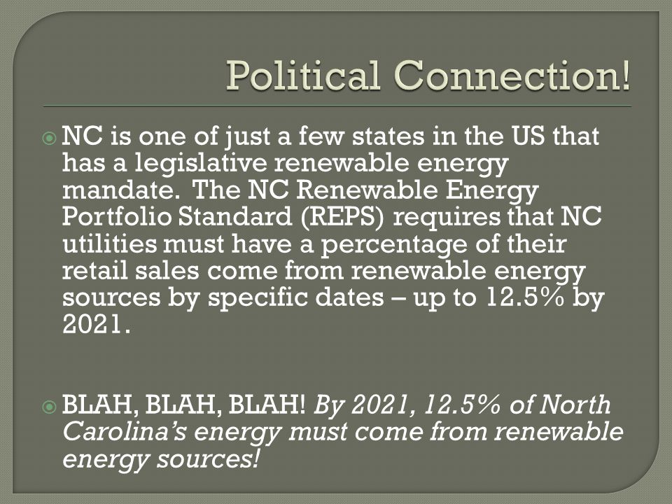 Political Connection!