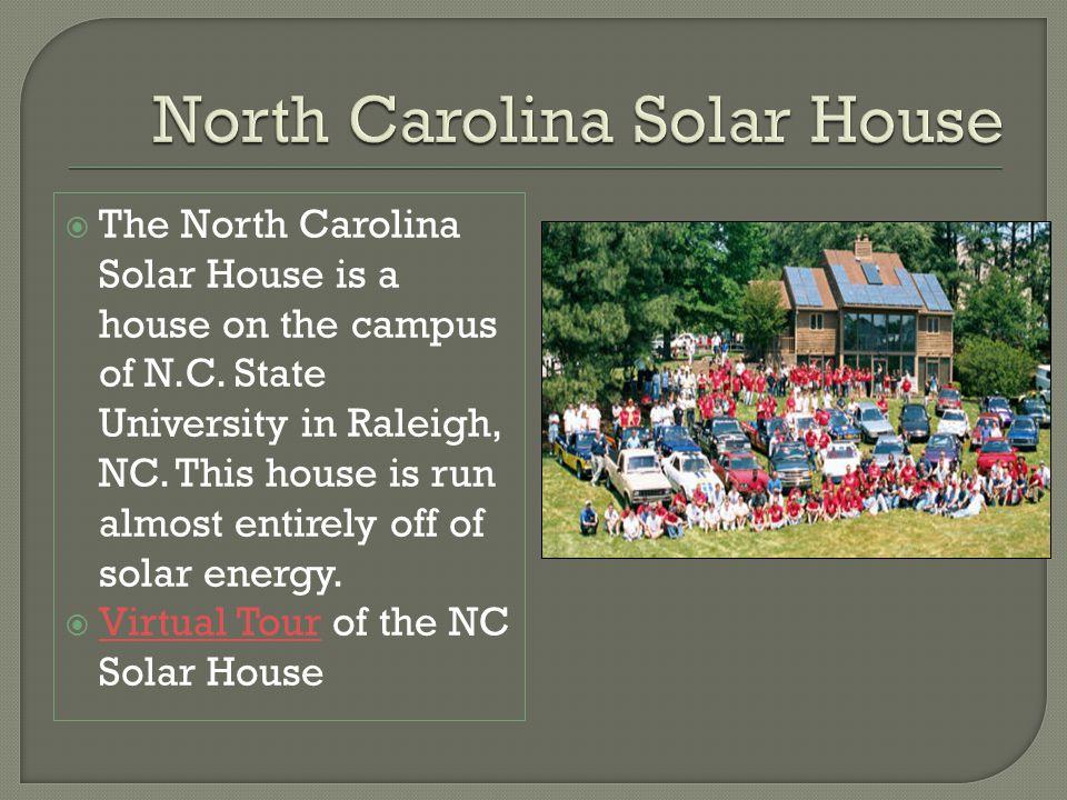 North Carolina Solar House
