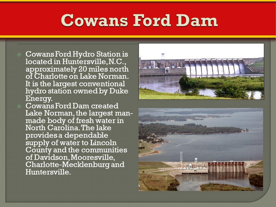 Cowans Ford Dam