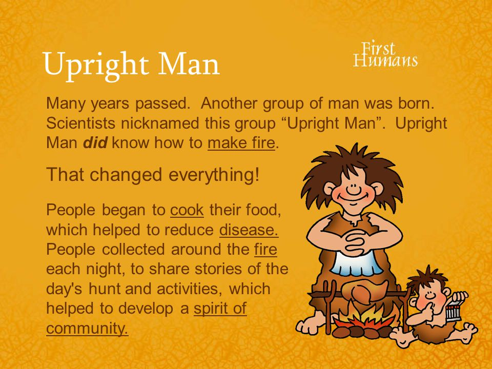 Upright Man That changed everything!