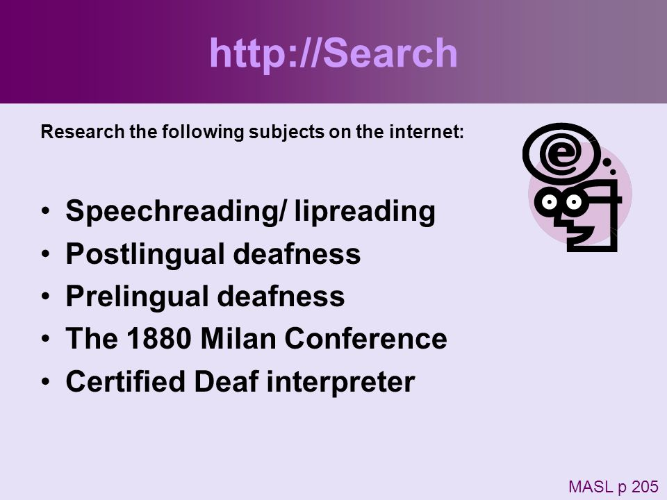 http://Search Speechreading/ lipreading Postlingual deafness
