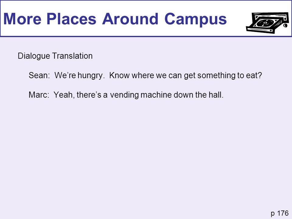 More Places Around Campus